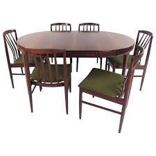 ib kofod larsen dining room chairs 5 for sale at 1stdibs