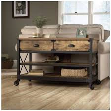 Sofa Table With Drawers 15 Best Collection Of Industrial Sofa Table