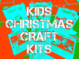 kids christmas craft kits all about a mummy