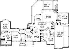 Luxury Kitchen Floor Plans Mirella House Plan Luxury Houses And House