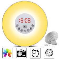 tecboss bedside l wake up light top 5 amazon best seller sunrise alarm clocks