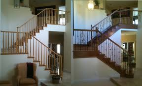 Replace Stair Banister Stair Design Before And After Examples Stair Parts Blog