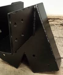 decorative inside flange joist hanger custom beam brackets