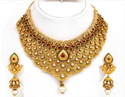 gold necklace designs simple images Simple bridal gold necklace designs catalogue ksvhs jewellery jpg