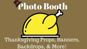 thanksgiving photo booth props 8 photo booth thanksgiving props banners backdrops and more