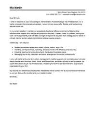 cover letters for administration 4 resume example letter examples