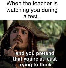 Test Taking Meme - teacher meme that face students make taking tests faculty loungers