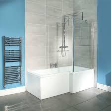 bathroom ideas nz gill l shaped bath and shower vcbc co nz 4 8 ace place