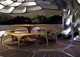 zaha hadid designs volu dining pavilion for design miami