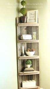 rustic corner bookcase tall corner bookcase large display unit
