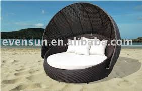 artistic elegant outdoor round daybed with beddaybedoutdoor
