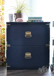 Virtual File Cabinet A Campaign Dresser Inspired Filing Cabinet Makeover Win The