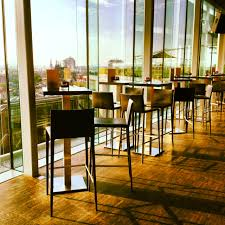 skylounge enjoy the beautiful view of the city amsterdam and