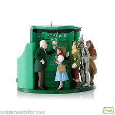 Oz Curtain Hallmark Wizard Of Oz Ornaments Collection On Ebay