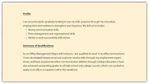 exle resume summary of qualifications resume summary of qualifications sles summary qualifications