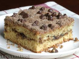 chocolate chip sour cream coffee cake recipe with picture