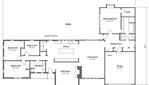 4 bedroom ranch style house plans 4 bedroom ranch plans luxamcc org