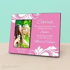 wedding gift photo frame bridal party wedding gift personalized picture frame