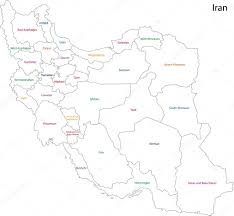 Tehran Map Tehran Iran Stock Vectors Royalty Free Tehran Iran Illustrations