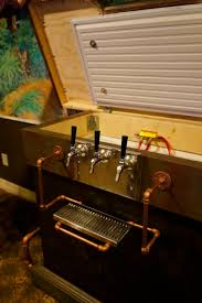 32 best keezers images on pinterest beer homebrewing and craft beer inside a steampunk keezer