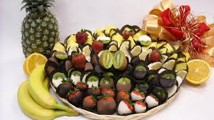 fruit dipped in chocolate shavuot chocolate fresh dipped fruit platter le chocolatier