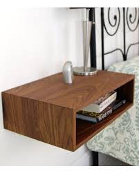 White Floating Nightstand Huge Deal On Floating Nightstand Midcentury Modern Bedside Table
