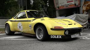 vintage opel car 1972 steinmetz opel gt group 4 sound u0026 accelerations at vernasca