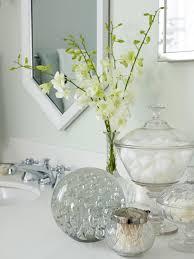bathroom supplies in decorative glass jars stock the bathroom