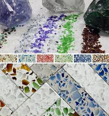 Best Countertops For Kitchen by Best 25 Recycled Glass Countertops Ideas On Pinterest Beach