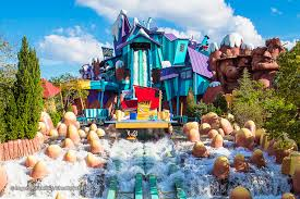 Adventure Island Orlando Map by Dudley Do Right U0027s Ripsaw Falls Water Ride At Universal Orlando U0027s