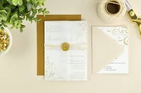 paper for invitations 4 ways to diy vellum wedding invitations cards pockets