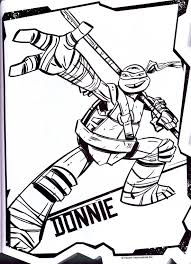 ninja turtles donatello coloring pages