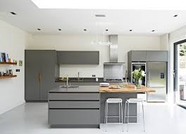 bespoke kitchens ideas roundhouse urbo grey matt lacquer bespoke kitchen with zebrano