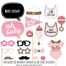 Baby Boy Photo Props New Baby Boy 20 Pieces Baby Shower Diy Photo Booth Props Kit