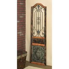 rustic 72 in arched decorative wall panel 55832 the home depot