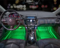 2006 Cadillac Cts V Interior 4pc Multi Color 7 Color Led Car Underseat Dash Interior Lights Kit