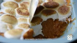 yams thanksgiving marshmallows co op food thanksgiving sweet potato with marshmallow youtube