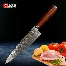 damascus steel kitchen knives aliexpress com buy sunlong 8 inch chef knives 67 layers