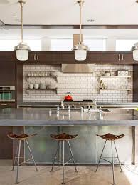 modern backsplash kitchen modern kitchens hgtv