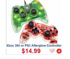 black friday ps3 xbox 360 or ps3 afterglow controller deal at meijer u0027s black friday