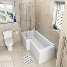 Bathroom Suites With Shower Baths Orchard Oakley Bathroom Suite With Left Handed L Shaped Shower