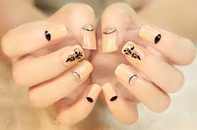 skin color genteel false nails decoration false nails