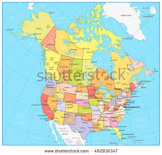 map of us and canada political map us and canada slide 6 thempfa org
