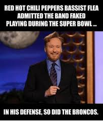 Broncos Defense Memes - red hot chili peppers bassist flea admitted the band faked playing