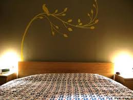 Wall Painting Designs For Bedroom Home Design - Designer wall paint