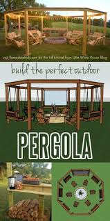 How To Build A Simple Pergola by Modern How To Construct Your Personal Pergola Handyman How To
