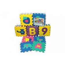 tappeti puzzle per bambini atossici tappeto baby puzzle ad incastro atossico 10pz 30x30 numeri