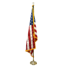 Steel Flag Pole Awesome Indoor Flag Pole And Stand Pictures Interior Design