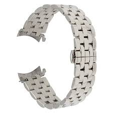 stainless steel buckle bracelet images Trumirr 22mm stainless steel watch band curved end jpg