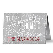 personalized cards no place like home